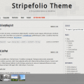 Stripefolio Screen